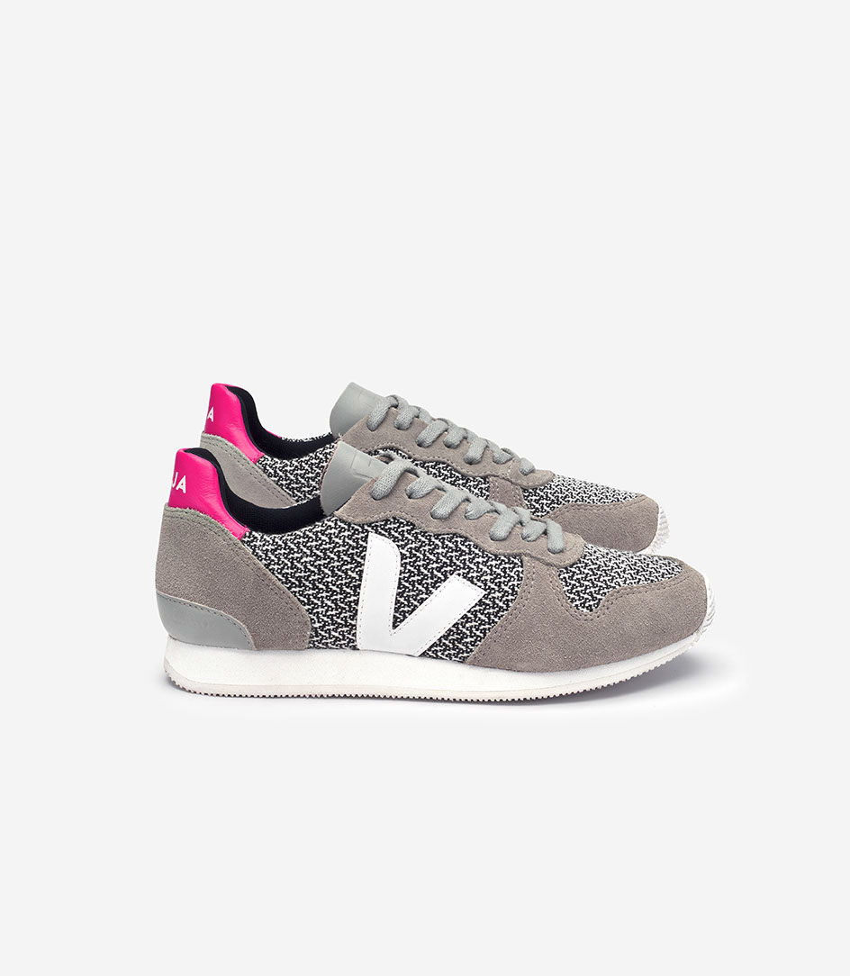 VEJA_HOLIDAY_CANVAS BLEND_BLACK WHITE_OXFORD GREY_WHITE_lateral